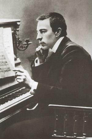 Сергей Рахманинов в молодости 1890 г