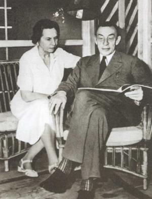 Наталья Александровна и Сергей Васильевич Рахманиновы 1942г