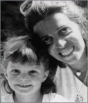 Кристина Онассис с юной дочкой Афиной
