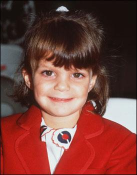 Афина Онассис в детстве