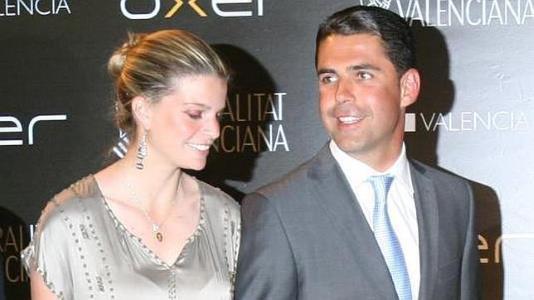 Афина Онассис с супругом Альваро Миранда Нето