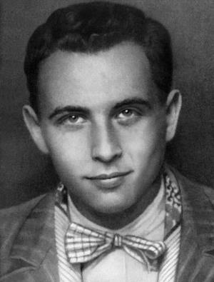 Эльдар Рязанов в молодости - студент ВГИКАа