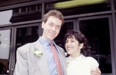 Хью Лори с супругой Джо Грин