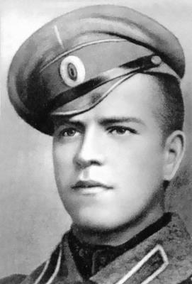 Георгий Жуков в юности