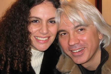Дмитрий Хворостовский с женой Флоранс Илли