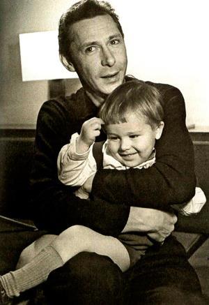 Михаил Ефремов отец Никиты Ефремова в детстве с дедом Олегом Ефремовым