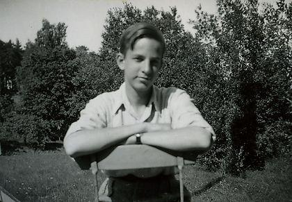 Ингмар Бергман в детстве, 15 лет