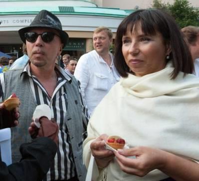 Гарик Сукачев с супругой Ольгой