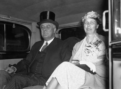 Франклин и Элеонора Рузвельт