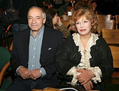 Валентин Гафт с супругой актрисой Ольгой Остроумовой
