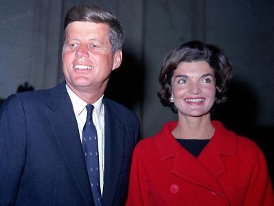 Джон Кеннеди с супругой