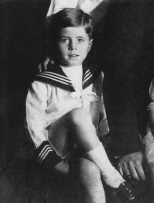 Джон Кеннеди в детстве