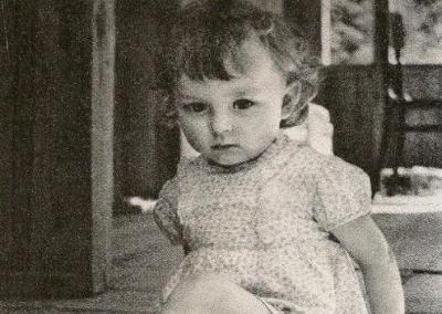 Настя Вертинская - детские годы