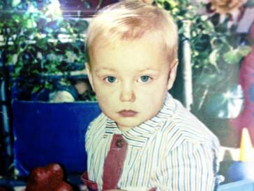 Алексей Воробьёв в детстве