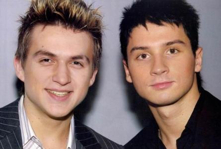 Сергей Лазарев с Владом Топаловым