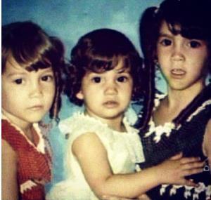 Сестрички Лопес в детские годы
