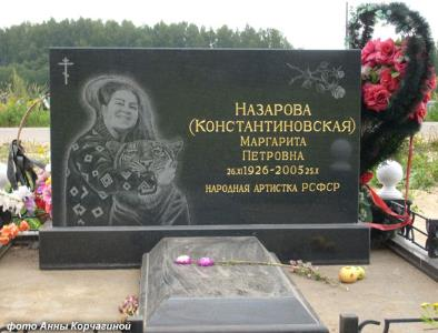 Маргарита Назарова была похоронена на Нагорном кладбище в Кстовском районе Нижегородской области.