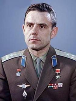Космонавт Владимир Комаров