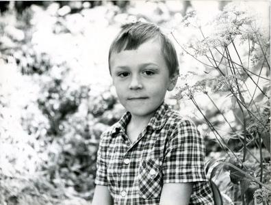 Сережа Шнуров в детстве