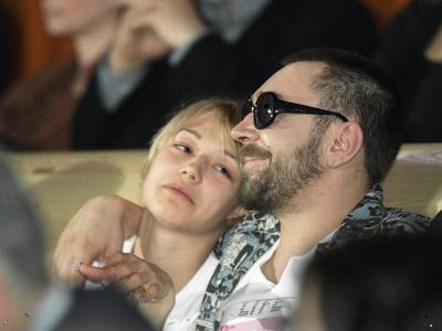 Сергей Шнуров с Оксаной Акиньшиной