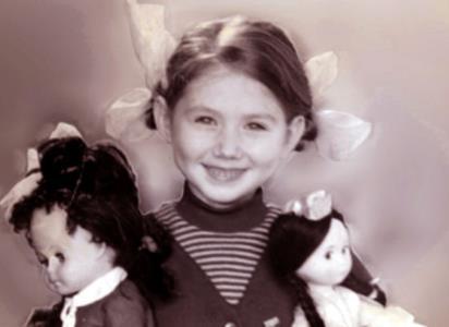 Хиллари Клинтон в детстве