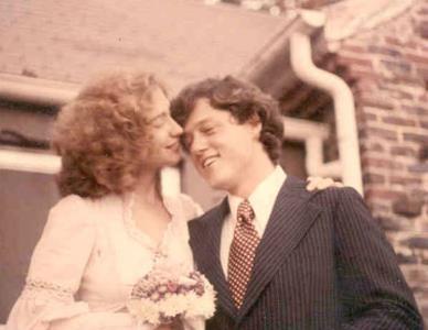 Свадьба Билла и Хиллари Клинтонов 11 октября 1975 года