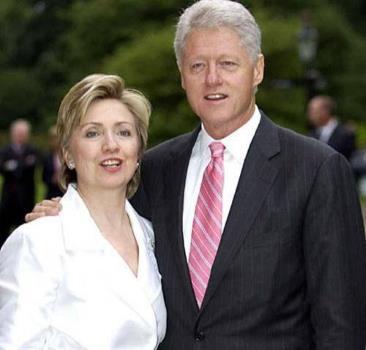 Хиллари Клинтон с супругом Биллом Клинтоном