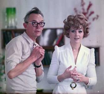 Леонид Гайдай и Нина Гребешкова