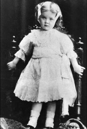 Марлен Дитрих в детстве