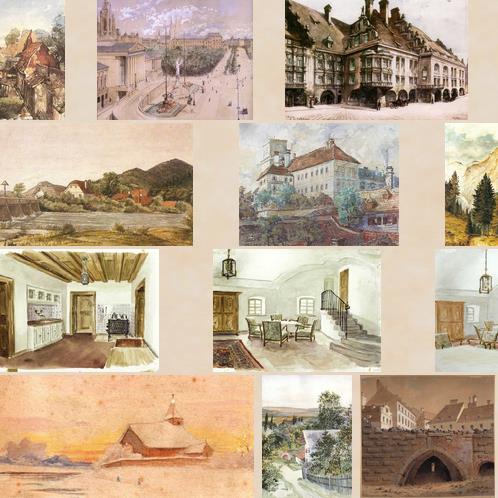 Картины художника Адольфа Гитлера