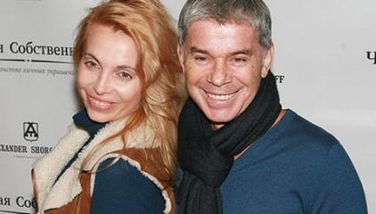 Олег Газманов с супругой Мариной Муравьевой