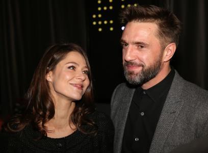 Елена Лядов с мужем Владимиром Вдовиченковым