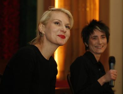 Рената Литвинова и Земфира Рамазанова