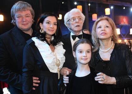 Старший и младший Стриженовы. Семья
