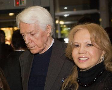 Олег Стриженов с супругой Лионеллой
