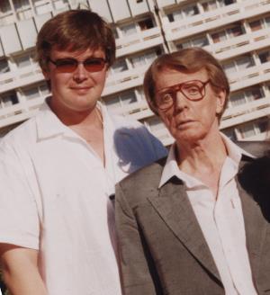 Александр Стриженов с отцом Олегом Стриженовым