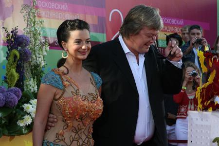 Александр Стриженов с супругой Екатериной Стриженовой