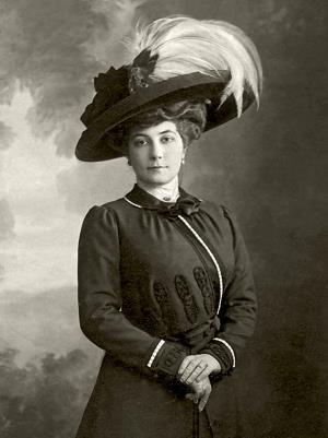 Жена художника Елена Шапошникова (Рерих). 1910-е гг.