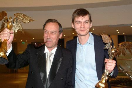 Олег Янковский с сыном Филиппом Янковским