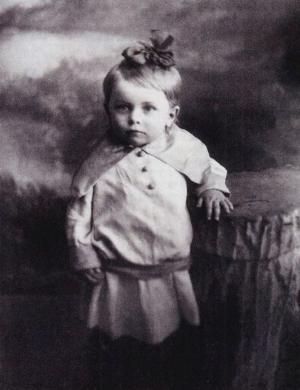 Людмила Целиковская в детстве