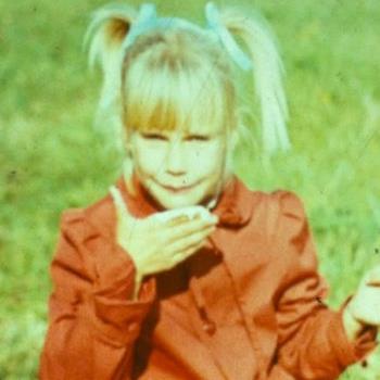 Елена Летучая в детстве