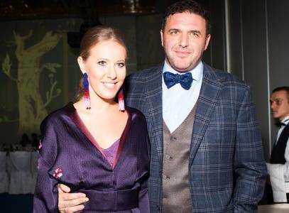 Ксения Собчак и ее муж Максим Виторган