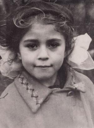 Люба Успенская в детстве