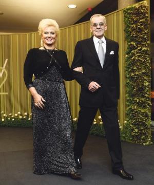 Анне Вески и ее муж Бенно Бельчиков