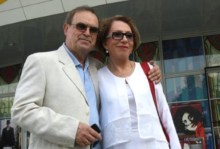 Инна Чурикова с любимым мужем Глебом Панфиловым