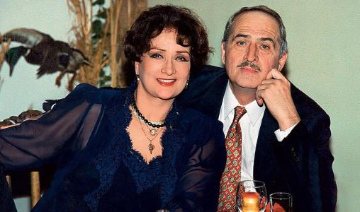 Зинаида Кириенко с мужем Валерием Тарасевским