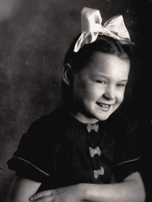 Люся Гурченко в детстве