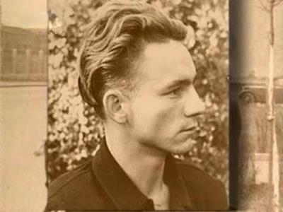 Николай Рыбников в юности