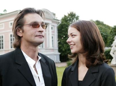 Марина Александрова с Александром Домогаровым