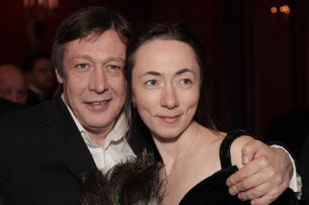 Пятая жена Михаила Ефремова Софья Кругликова